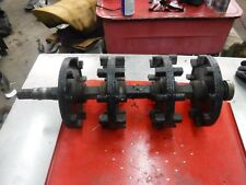 1993 Skidoo MACH 1 snowmobile parts: TRACK DRIVE SHAFT ASSEMBLY