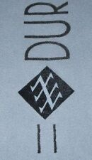 DURAN DURAN Official 1983/4 Tour Grey Soft Wool Concert Scarf GIFT IDEA