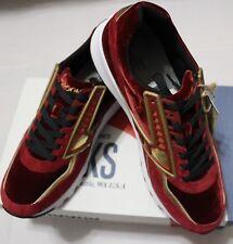 online store 83d29 b4c6c  130 BROOKS MEN S REGENT RED DAHLIA GOLD CHROME RUNNING SHOES(RUNS SMALL)
