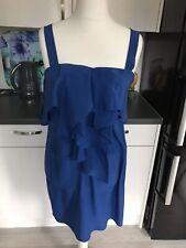 Coast Blue Silk Dress Size 12