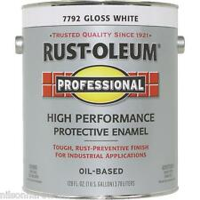 1 Gal White Gloss Rust-Oleum VOC Compliant Rust Control Enamel Paint K7792
