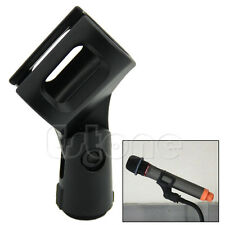 Plastic Flexible Microphone Mic Clamp Clip Holder Mount Stand Accessory New