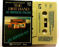 THE DIRT BAND CASSETTE TAPE AN AMERICAN DREAM 1979 MADE IN AUSTRALIA