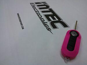 Key Cover Remote Control Fiat New 500 Grande Punto Evo Lilac Fuchsia Viola