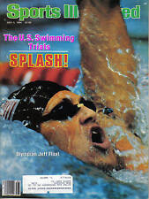 1984, (7/9) Sports Illustrated, Swimming, magazine, Jeff Float, Olympic Trials