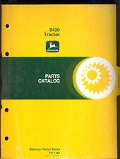 1979 JOHN DEERE PARTS CATALOG  MODEL 8430 TRACTORS