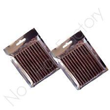 24 X marrón Extensiones De Cabello Con Queratina Pegamento Adhesivo Palos del Reino Unido