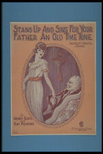 308030 Stand Up And Sing For Your Father An Old Time Tune A4 Photo Print