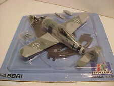 FW-190A Single Prop Aeroplane Airplane 1/100 Diecast Italeri Mint on Card+ Stand