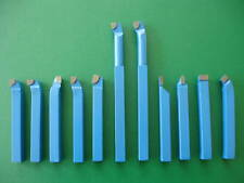 "11Pce-8mm(5/16"") Mini Metal Lathe Carbide Tip Tool Set"