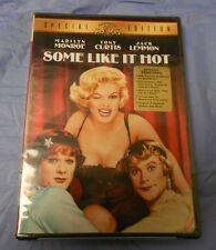 MARILYN MONROE DVD Some Like It Hot TONY CURTIS Jack Lemmon SEALED