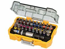 DEWALT 32 Piece Screwdriver Bits & Drill Holder Set DT7969, Pz,Ph,Torx,Hex,Slot