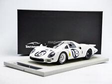 Tecnomodel Ferrari 365P Elefante Blanco Le Mans 1966 #18 1/18 Le de 250 Nuevo