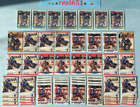 1990 MIKE RICHTER Rookie Goalie Lot x 54 RC | Upper Deck Score Canadian Topps +