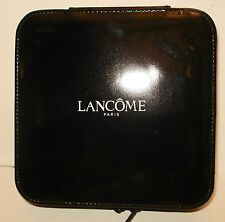 Lancome Small Black Makeup Train Case  Hard Case  New