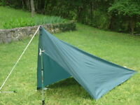 Tent Backpacking Tarp 10.4 oz Ultra light weight Appy Trails