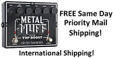 New Electro-Harmonix EHX Metal Muff Distortion w/ Top Boost Guitar Pedal!