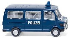 086431 Wiking 1:87 Mercedes-Benz 207 D Polizei Bus