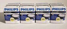 Lot of 4 PHILIPS EnduraLED 4W MR16 3000K FL24 GU5.3 Light Bulb