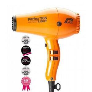 NEW, Parlux 385 Powerlight Ionic Ceramic Dryer 2150W - Orange