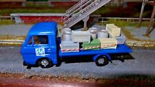 Ho 1:87 Truck Clf Buildings Lines Ferroviara with Speaker Guys Hunks ,Plastic FS