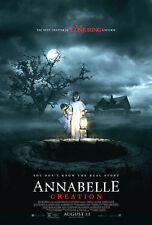 ANNABELLE CREATION 2017 ORIGINAL 27X40 MOVIE POSTER The Conjuring Next Chapter