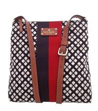 NWT Authentic Kate Spade Chocolate Classic Spade Victoria CrossBody Bag