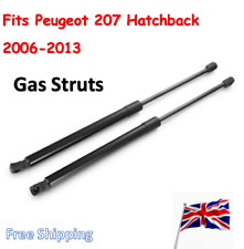 Pair Rear Tailgate Gas Struts Lifters For Peugeot 207 Hatchback 2006-2013 505mm