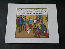 EX LIBRIS HERGE TINTIN VOL 714 POUR SYDNEY PLANCHE 2 STRIP 4