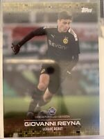 GIOVANNI GIO REYNA BREAKTHROUGH 2020 TOPPS BVB ROOKIE CARD RC LEAGUE DEBUT /1420
