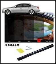 CAR WINDOW TINT FILM TINTING LIGHT BLACK 50% 50cm x 3M NEW