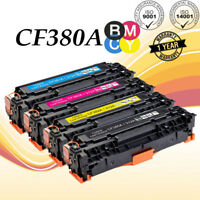 4PK CF380A Toner Cartridge Set for HP 312A LaserJet Pro MFP M476dn M476dw M476nw