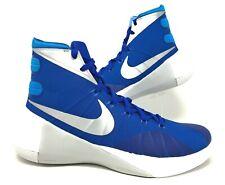 Nike Hyperdunk 2015 Mens Basketball Shoes Blue/White/Silver Size 11 749645 404