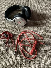 Monster Beats By Dr.Dre Pro Studio Over Ear Headphones Silver