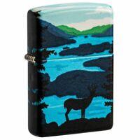 Zippo Deer Landscape Design 540 Color Pocket Lighter, 49483