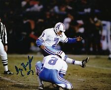 Houston Oilers TONY ZENDEJAS #7 autograph signed photo Nevada Wolf Pack Mexico