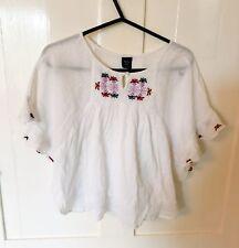 Gorgeous white blouse / gypsy top GAP Girls 6-7 years