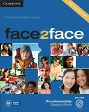 Face2face Pre-Intermediate Student's Book With Dvd-Rom: By Chris Redston, Gil...