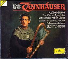 Wagner: Tannhäuser Placido Domingo Cheryl Studer Agnes Baltsa Sinopoli 3cd 1989