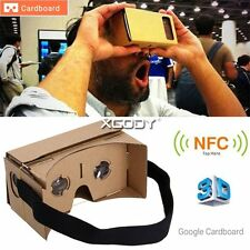 "3D Virtual Reality VR SHINECON Movie Game Glasses For 5"" - 6"" Smartphone VRBOX"
