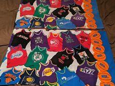 Vintage NBA Jerseys Twin Size Complete Bedding set bedspread sheets pillowcase