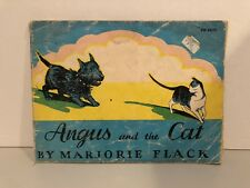 Angus and the Cat by Marjorie Flack 1931, Softcover Children's Book 1931