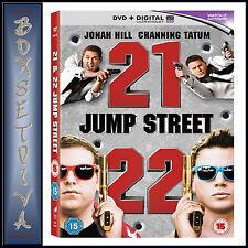 21 JUMP STREET & 22 JUMP STREET - DOUBLE PACK  **BRAND NEW DVD BOXSET**