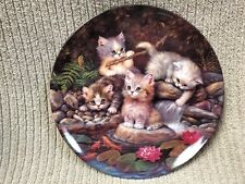 """Am Seerdsenteich"" By The Lily Pond Collector Plate Jurgen Scholz Free Shipping!"