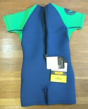 Body Glove Child Wetsuit Springsuit Small Blue Green # 21167BWM New