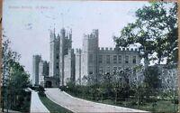 DeKalb/De Kalb, IL 1909 Postcard: Normal School - Illinois Ill