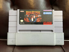 BRAWL BROTHERS - Super Nintendo SNES (Authentic) Genuine game cartridge