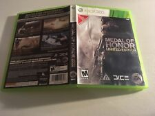 MEDAL OF HONOR LIMITED EDITION MICROSOFT XBOX 360 MINT CONDITION/-