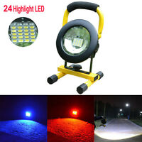 LED Rechargeable 30W Flood Flood light Work Light Portable Caravan Camping Lamp
