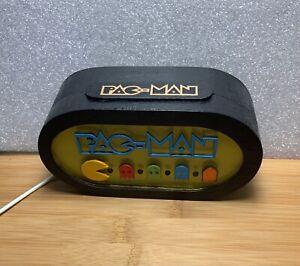 PACMAN Gamertag Light USB Desk Gaming Room Hand Made